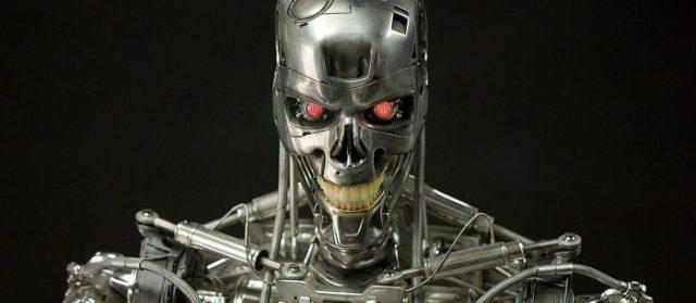 terminator robot main page